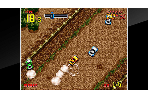 ACA NEOGEO THRASH RALLY Game | PS4 - PlayStation