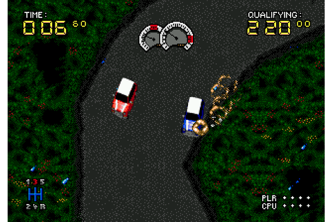 Power Drive (1994) by US Gold / Rage Software Mega Drive game