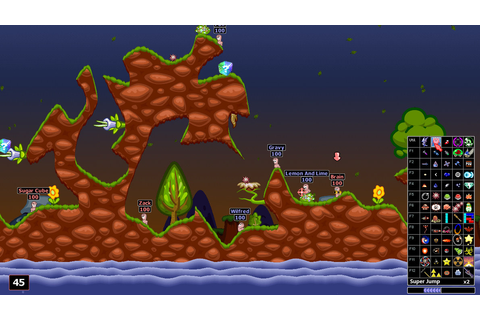 terminology worms - What type of game is Scorched Earth ...