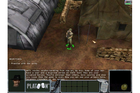 Platoon Download (2002 Strategy Game)