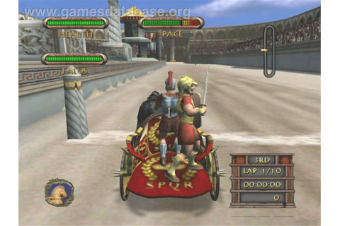 Circus Maximus: Chariot Wars - Microsoft Xbox - Games Database