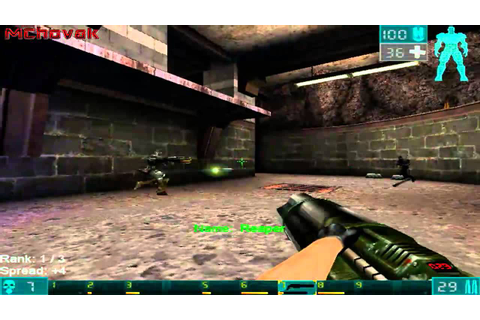 Unreal tournament Game of Year edition PC Gameplay - YouTube