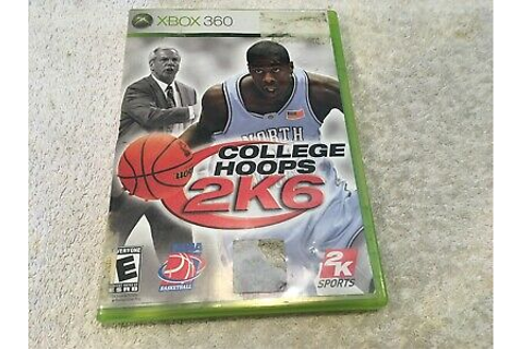 College Hoops 2K6 (Microsoft Xbox 360) Game Complete With ...