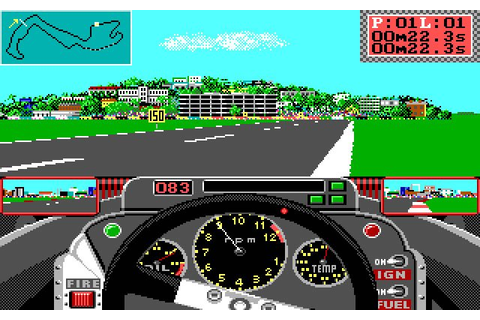 Download Grand Prix Circuit racing for DOS (1988 ...