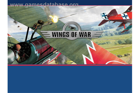 Wings of War - Microsoft Xbox - Games Database