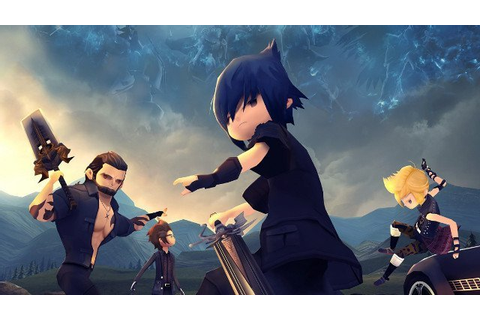 Final Fantasy XV Pocket Edition Is a Mobile Version of ...