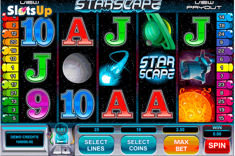 Starscape Slot Machine Online ᐈ Microgaming™ Casino Slots