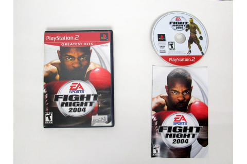 Fight Night 2004 game for Sony PlayStation 2 | The Game Guy