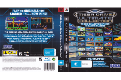 BLES00475 - Sega Mega Drive: Ultimate Collection