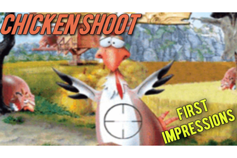 Crappy Wii Games: Chicken Shoot - YouTube