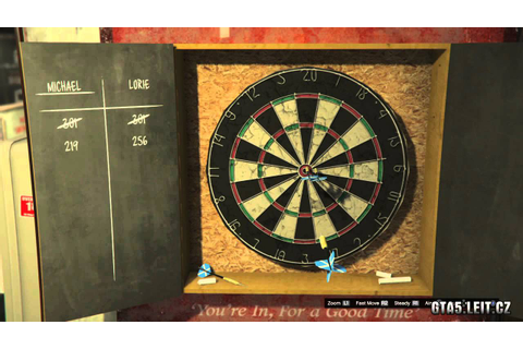 GTA V - how to win darts - YouTube