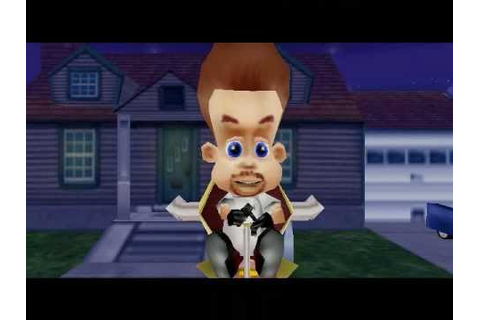 Jimmy Neutron VS Jimmy Negatron walkthrough part 8: Boss 2 ...