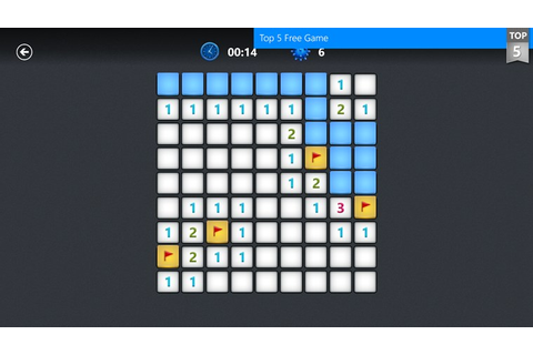 Microsoft Minesweeper app for Windows in the Windows Store