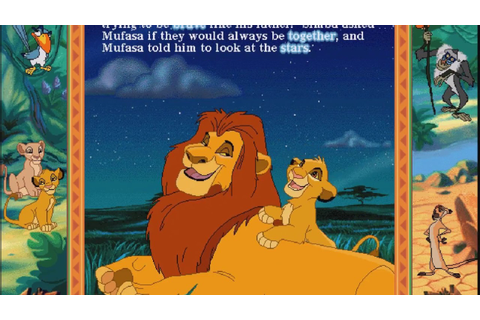 The Lion King: Disney's Animated Storybook - Part 5 - Read ...