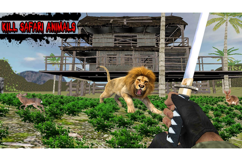 Jungle Zone helicopter Animal hunter (by Standard Games ...