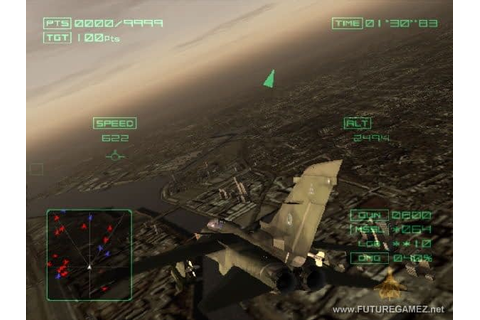 Ace Combat 4: Distant Thunder – Preview – Game Zone