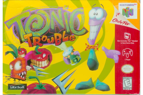 Tonic Trouble for Nintendo 64 (1999) - MobyGames