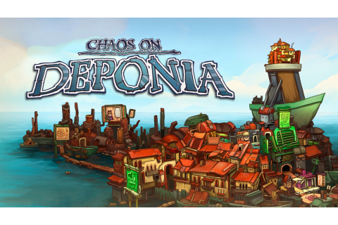 Chaos on Deponia | Linux Mac PC Steam Game | Fanatical