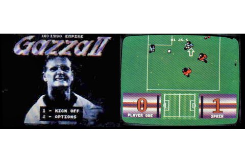 "The lost cart – ""Gazza II"" on the Amstrad GX4000! 