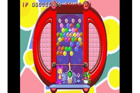 Super Puzzle Bobble Advance (GBA) - Vizzed.com Play - YouTube