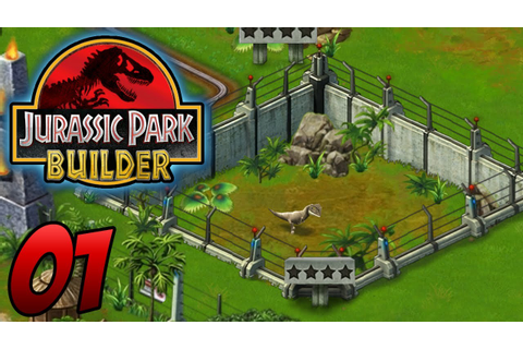 Jurassic Park Builder - Episode 1 - Dinosaurs - YouTube