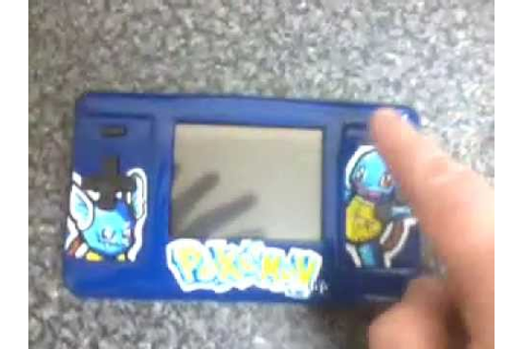 Nintendo ds to gba mod Custom Painted GameBoy Pokemon blue ...