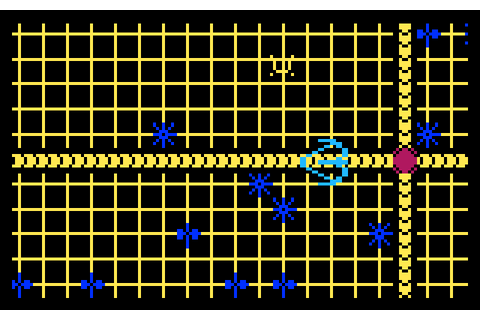 Tron Solar Sailer (1983) by Intellivision Intellivision game
