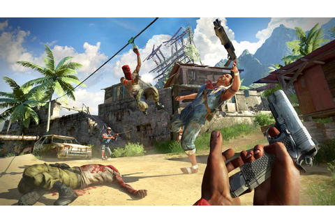 Far Cry 3: first in-game multiplayer footage - YouTube