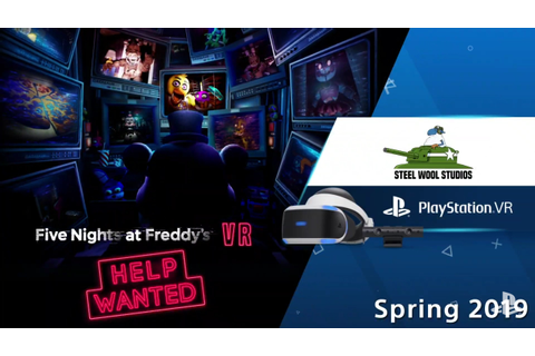Five Nights at Freddy's VR : Help Wanted coming Spring ...