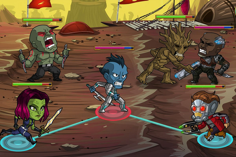 Guardians of the Galaxy makes its video game debut with ...