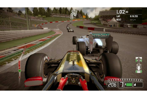 First ever F1 2011 PS VITA screenshots (Update: Gameplay ...