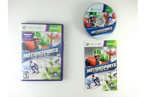 MotionSports game for Xbox 360 (Complete) | The Game Guy