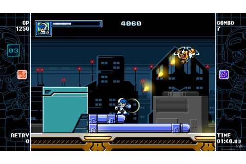 Mighty Gunvolt Burst - Game - Nintendo World Report