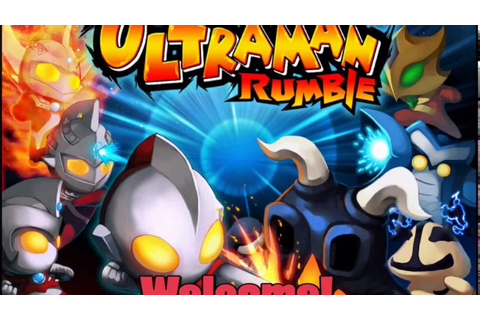 CTed Plays: Ultraman Games | Ultraman Rumble 1 & 2 ...