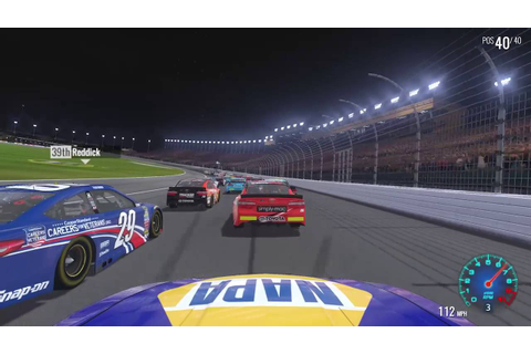 NASCAR HEAT EVOLUTION FIRST GAMEPLAY!!! - YouTube