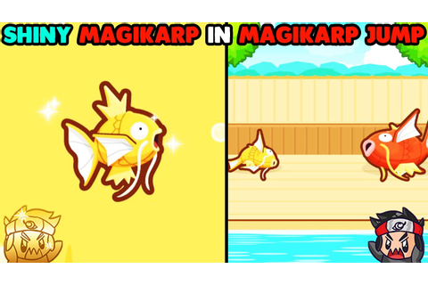 SHINY MAGIKARP IN MAGIKARP JUMP! NEW POKEMON GAME! - YouTube
