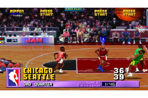 Making NBA Jam -- winning over the NBA, scouring magazines ...