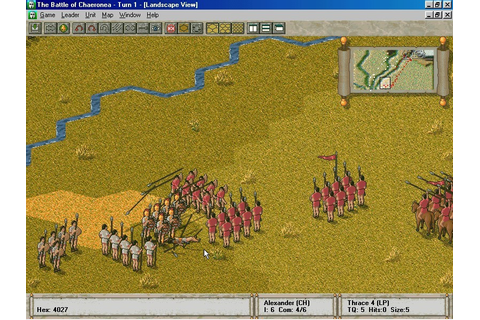 Скриншоты The Great Battles of Alexander на Old-Games.RU