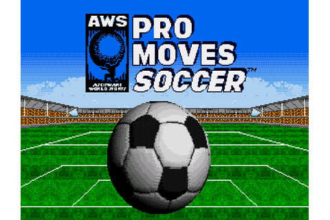 AWS Pro Moves Soccer Details - LaunchBox Games Database