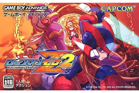 Game: Mega Man Zero 2 [Game Boy Advance, 2003, Capcom ...