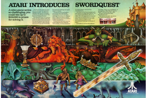 Swordquest: The Real Treasure is Actual Treasure