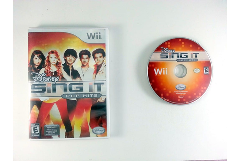 Disney Sing It: Pop Hits game for Wii | The Game Guy