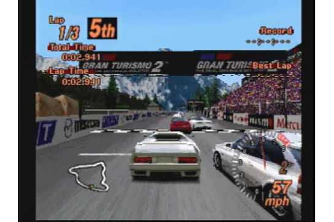 Classic Game Room reviews GRAN TURISMO 2 for Playstation ...
