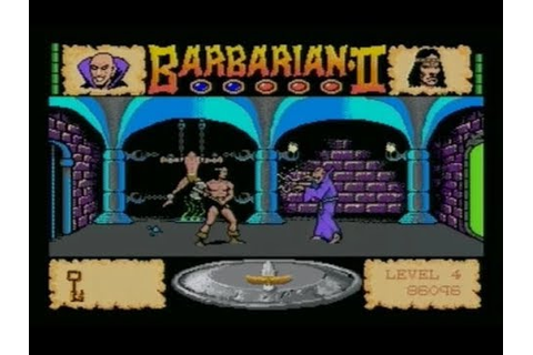 BARBARIAN II (AMIGA - FULL GAME + ALL DEATH SCENARIO'S ...