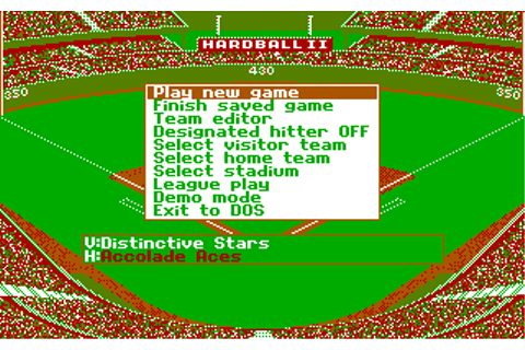 Download HardBall II - My Abandonware