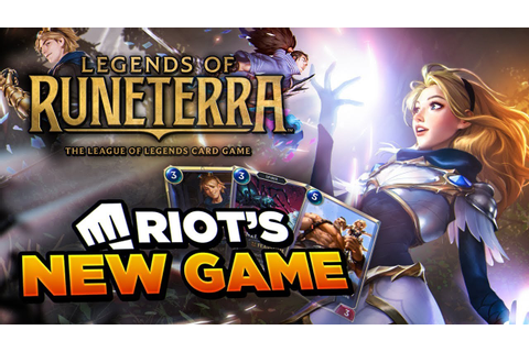 FIRST EVER GAMEPLAY FOOTAGE OF RIOT'S NEW GAME: LEGENDS OF ...