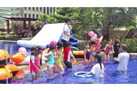 Kids Pool Party Singapore - YouTube
