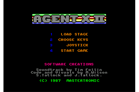 Download Agent X II: The Mad Prof's Back! - My Abandonware