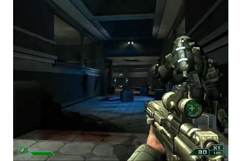 Area 51 PC Gameplay Freeware Sci-Fi Shooter Game (Hard ...