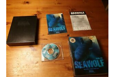 SSN-21 Seawolf DOS PC CD ROM War submarine simulation game ...
